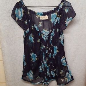 Abercrombie and Fitch Large floral shirt